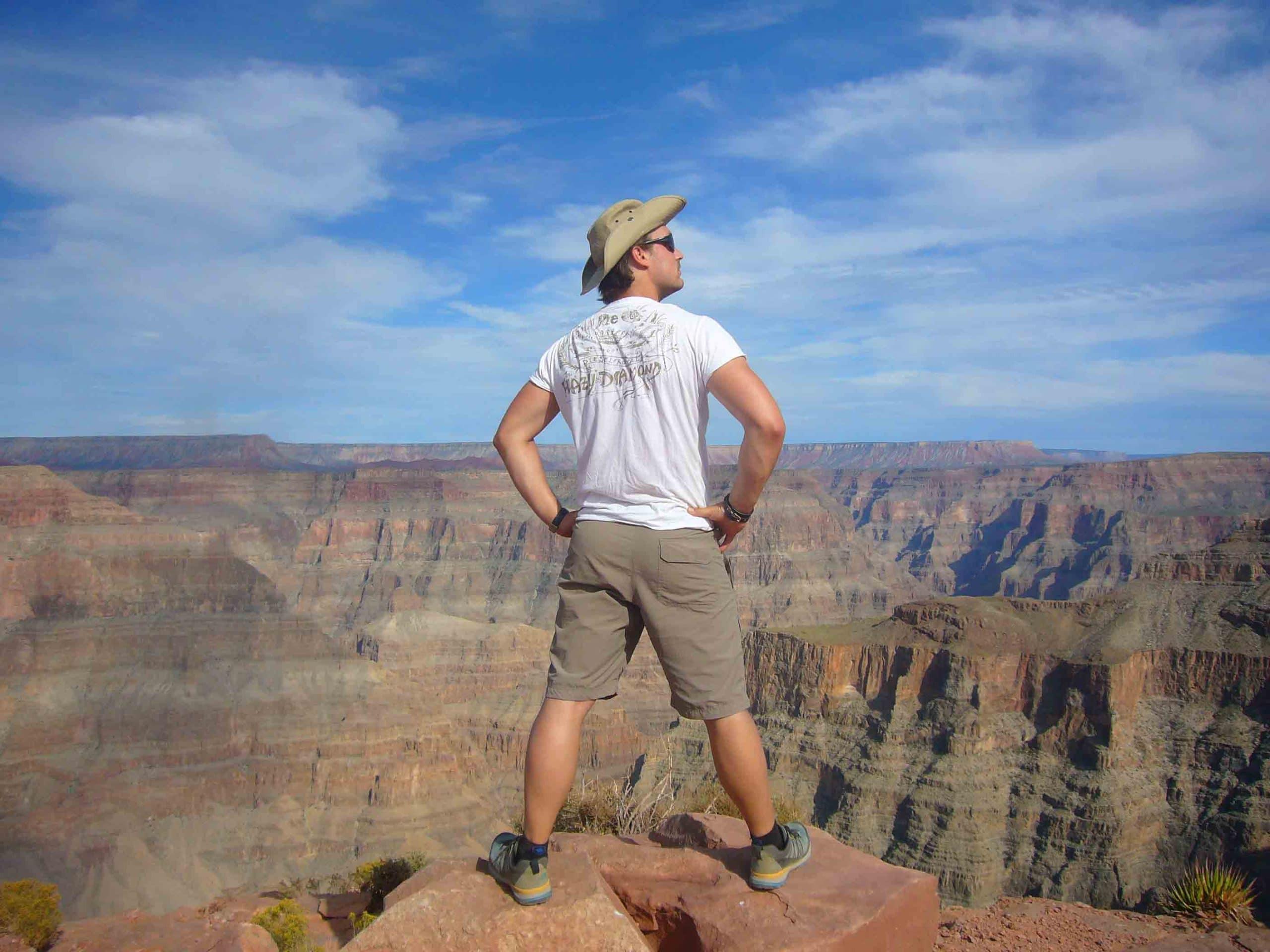 2015 am Grand Canyon USA