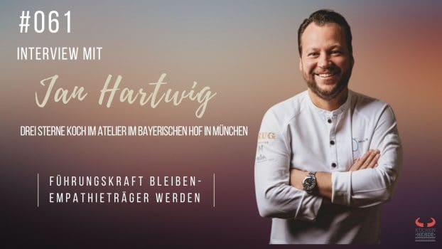Jan Hartwig - Drei Sterne Koch im Atelier im Bayerischen Hof in München